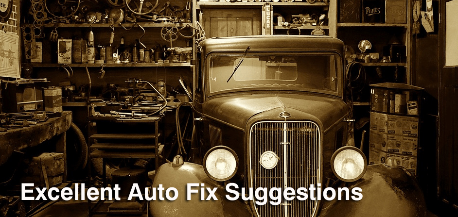 Excellent Auto Fix Suggestions To Help You