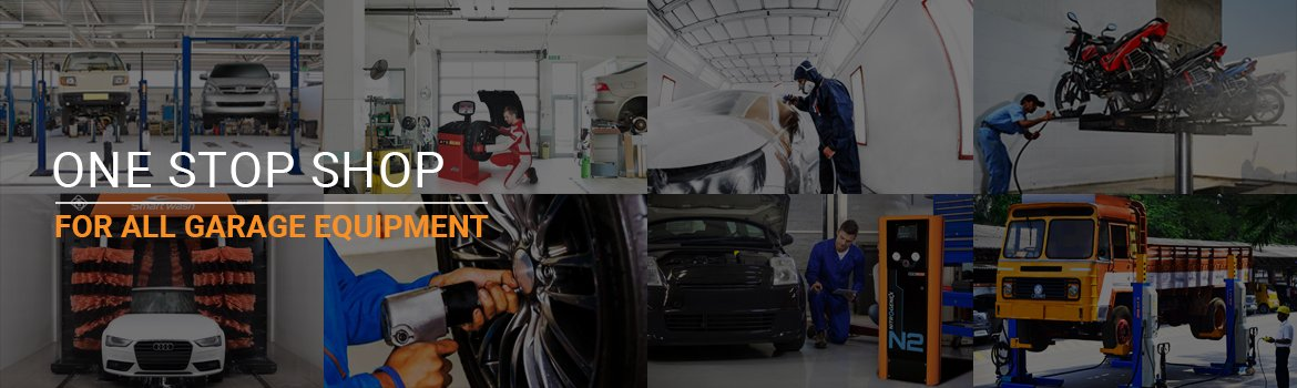 Automotive Workshop Equipment, Automotive Repair Tools & EquipmentsAuto Workshop, Bus Repairing, Painting, AC Work