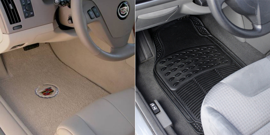 Car Mats Options: Vinyl vs Carpet Materials