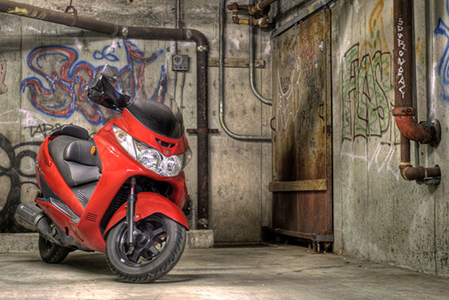Review the Advantages of Suzuki Burgman Street 125