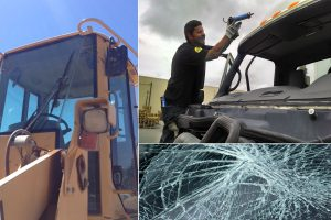 Glass Repair for Heavy Equipment and Semi-Trucks
